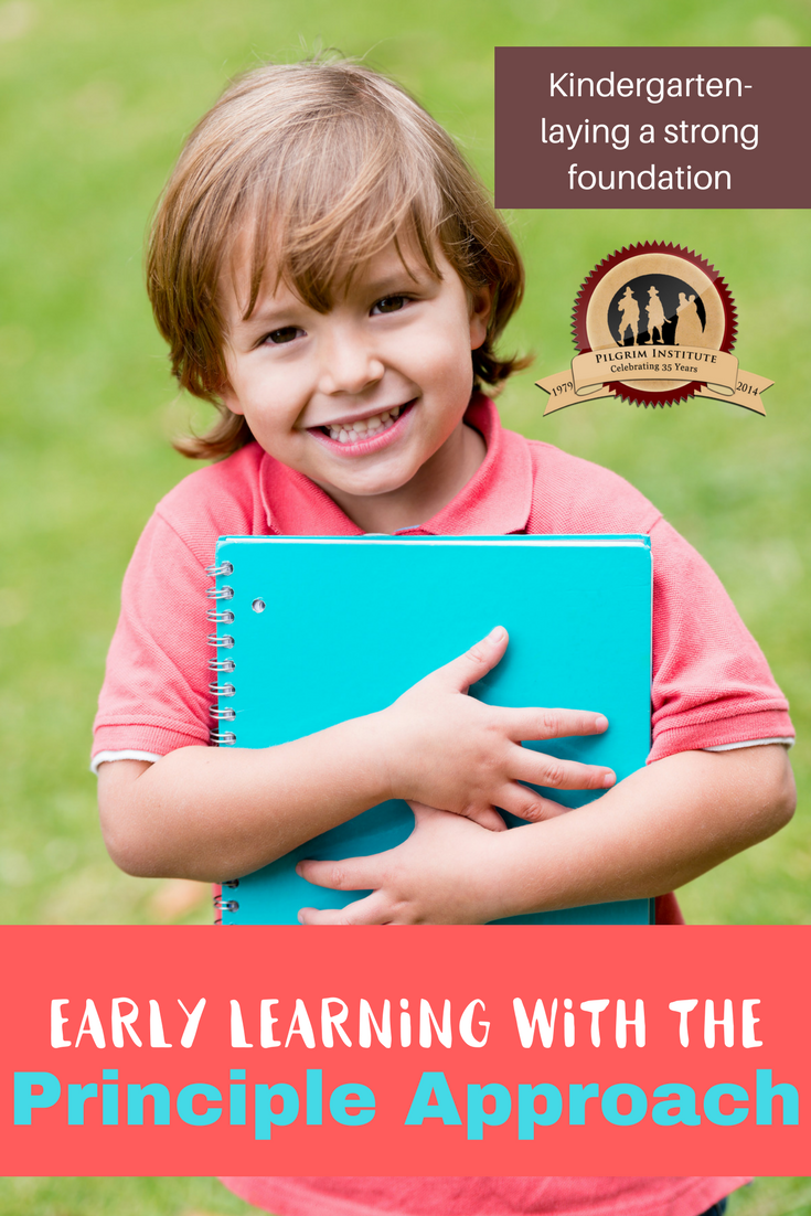 early learning with the Principle Approach | Kindergarten