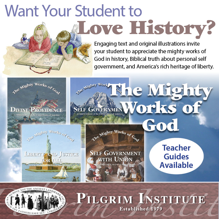 A Providential History Series for the Home and School | The Mighty Works of God by Ruth J. Smith