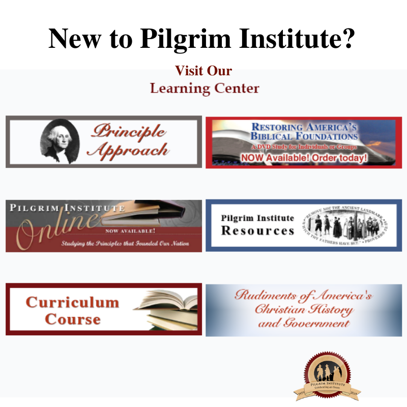 New to Pilgrim Instgitute